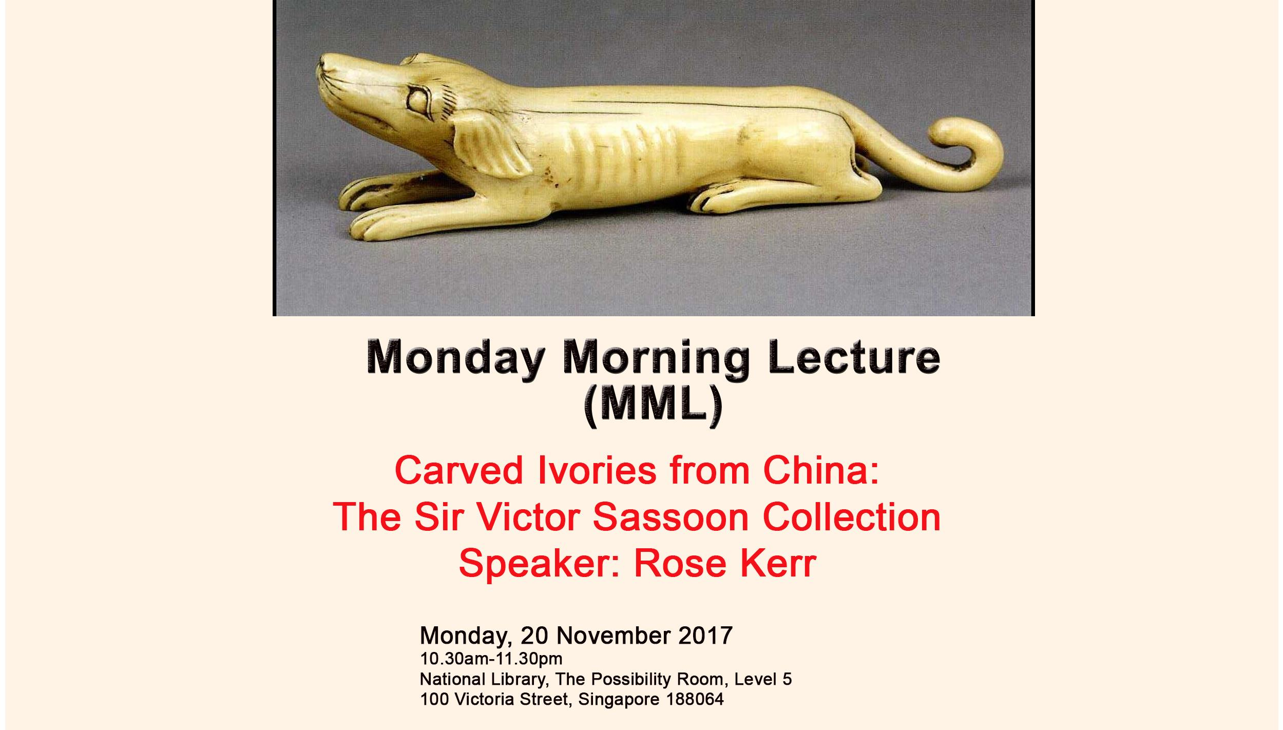 Monday Morning Lecture click here for more information