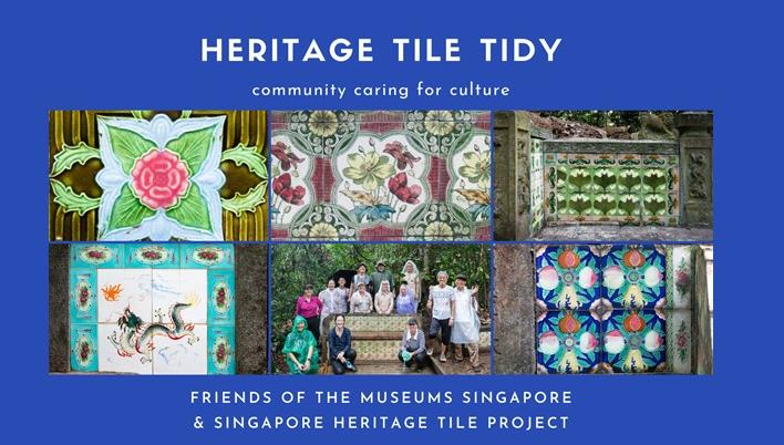 FOM Singapore Heritage Tile Tidy in Bukit Brown, 8 May 2021
